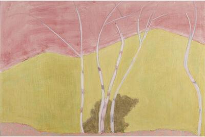 Sally Michel, 'Five Birches', 1977