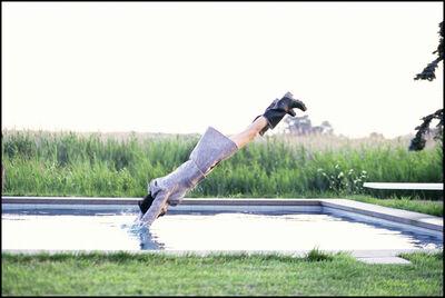 Arthur Elgort, 'Stella Diving, Watermill, New York, VOGUE', 1995