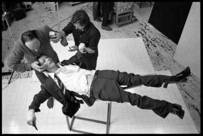 Brian Duffy, 'David Bowie: Lodger Set Build', 1979