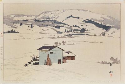 Yoshida Hiroshi, 'Winter in Taguchi', 1927