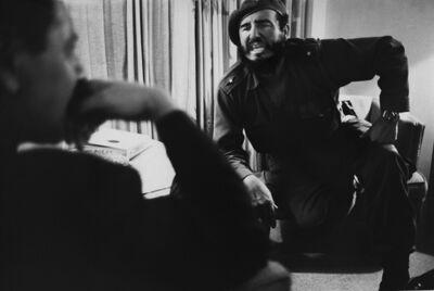 Marc Riboud, 'Fidel Castro interviewé  par Jean Daniel, Cuba, 1963', 1963