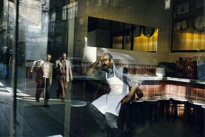 Alex Webb, 'Suleymaniye cafe. Istanbul. Turkey. ', 2004