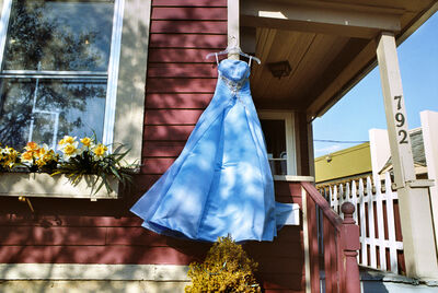 Rebecca Norris Webb, 'Blue Prom Dress, Rochester, New York', 2012