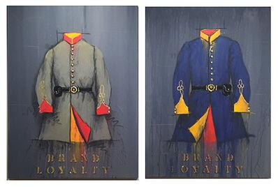 William Dunlap, 'Brand Loyalty -Brand Loyalty - Rebel Tunic & Union Blue'