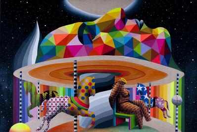 Okuda San Miguel, 'My Brain's Carrousel', 2016
