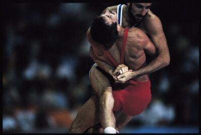 David Burnett, 'Greco-Roman Wrestling. Los Angeles, California, USA.', 1984