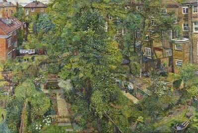 Melissa Scott-Miller, 'View of Back Gardens', Contemporary