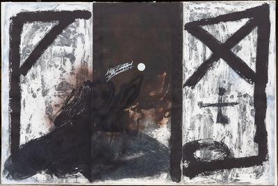 Antoni Tàpies, 'Triptych', 1989