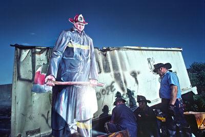 Robert Funk, 'Firemen in the Bronx', 1975