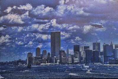 Allan Tannenbaum, 'WTC Liberty Centennial Blimps', 1986