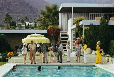 Slim Aarons, 'Poolside Host', 1970