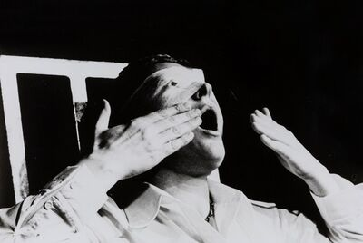 Gina Pane, 'Psyche - Paris', 1974