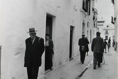 Inge Morath, 'Evening stroll in the streets of Jerez de la Frontera', 1954