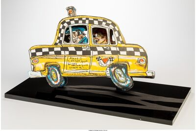 Red Grooms, 'Ruckus Taxi', 1982