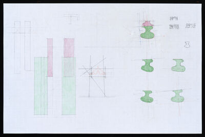 Richard Rezac, 'Study for Limb (wood)', 2020