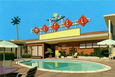 Andy Burgess, 'Coronet Motel', 2019
