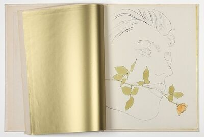 Andy Warhol, 'A Gold Book', 1957