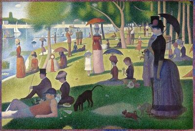 Georges Seurat, 'Sunday Afternoon On The Island Of La Grande Jatte, 1884-1886', 21st Century