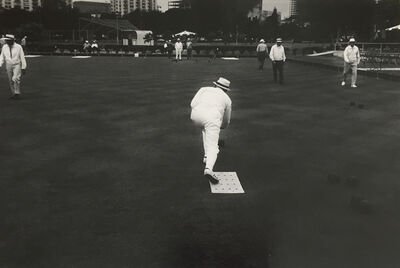 Anthony Friedkin, 'Lawn Bowling'