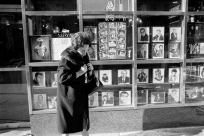 Mario Carnicelli, 'Lady in fur collared coat, New York', 1969