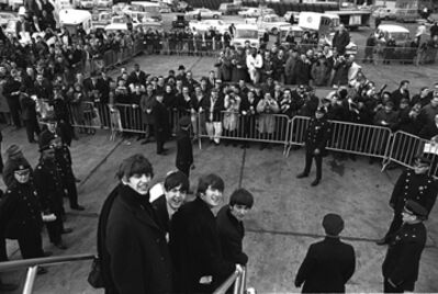 Harry Benson, 'Beatles Arriving, New York', 1964