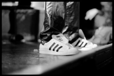 David Corio, 'Run-DMC (Close Up Of Adidas Superstar Sneakers)', 1986