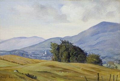 Luigi Lucioni, 'View of the Valley', 1940