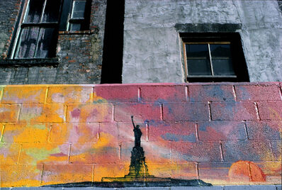 Philip Pocock, 'Liberty Wall (E. 2nd St.)', 1978