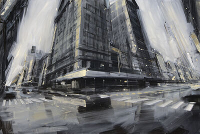 Valerio D'Ospina, 'Broadway and W. 25th', 2013