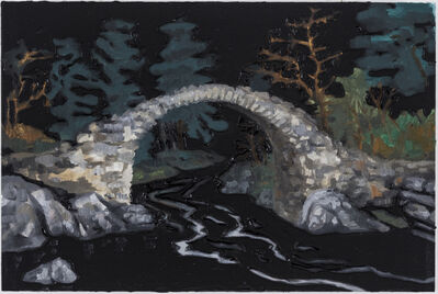 Rodrigo Andrade, 'Overnight - Ruined Stone Bridge', 2016