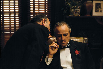 Steve Schapiro, 'The Godfather, The Whisper', 1971