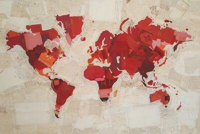 Fernando Alday, 'Mapa de la rosa', 2018