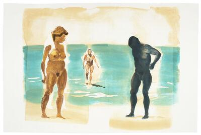 Eric Fischl, 'Beach Scene: Beach', 1989