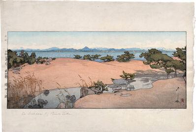 Yoshida Hiroshi, 'Four Gardens: A Garden by the Lakeside (A Garden by Biwa Lake)', 1933