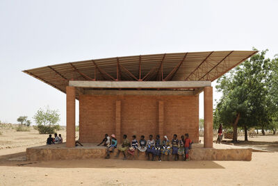 Kéré Architecture, 'Primary School, Gando, Burkina Faso', 2001