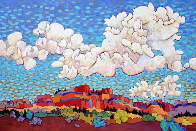 "Claudia Hartley, '""Favorite Clouds""', 2020"