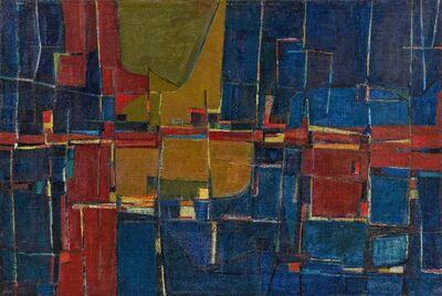 Karl Fred Dahmen, 'Composition', 1953
