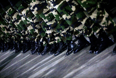 Khaled Jarrar, 'The Invention of Palestinian Soldier no 2', 2010
