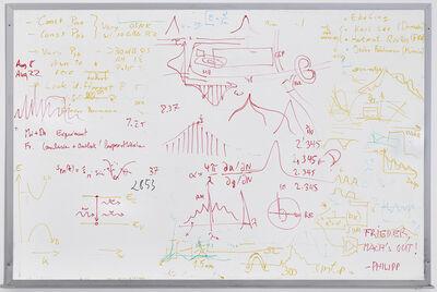 Emilio Chapela, 'Do Not Erase. Frieder Mach's gut.', 2016