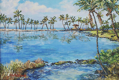 Betty Hay Freeland, 'Maile Anaehoomalu Bay', 2018