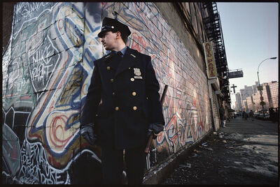 Joseph Rodriguez, 'Policeman on duty, Spanish Harlem, NY ', 1987
