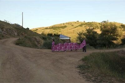 Nilbar Güres, 'ÖRTÜ - ETEK / CLOTH - SKIRT', 2011
