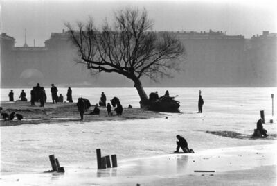 Colin Jones, 'The Frozen River Neva, Leningrad, Russia ', 1964