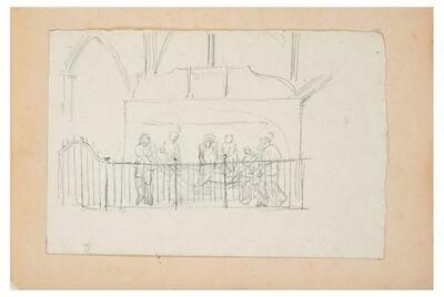 Lucien Alphonse Gros, 'Transport of Dead Christ', End XIX century