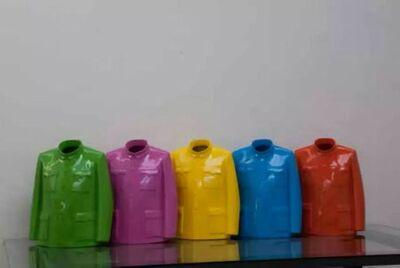 Sui Jianguo 隋建国, 'Rainbow Mantle', 2004