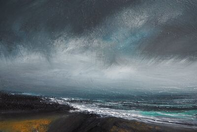 Ruth Brownlee, 'Blustery Gale, East Yell', 2019