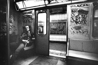 Tseng Kwong Chi, 'On the Subway', 1986