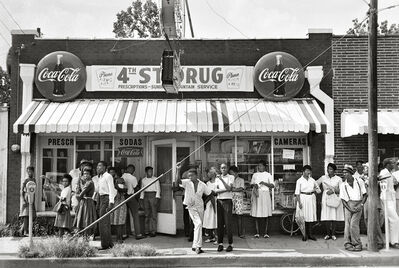 Steve Schapiro, 'James Baldwin, Jojo's Fried Chicken, New Orleans', 1963