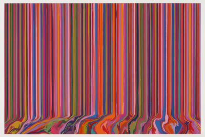 Ian Davenport, 'Poured Triptych Etching: Primavesi (After Klimt)', 2017