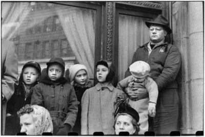 Elliott Erwitt, 'People watch Armistice Day parade downtown. Pittsburgh, Pennsylvania. USA. ', 1950